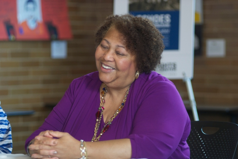 Dianne Braddock discussed the civil rights movement of the 1960s and present-day problems. Photo courtesy of the Civil Rights Heritage Center.