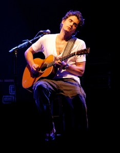 John Mayer performs at a concert. Photo courtesy of Wikimedia Commons copy
