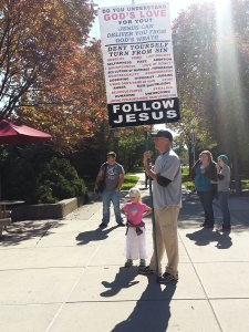 Vocal preachers on campus spark student-led protest