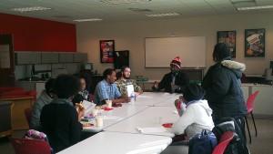 A meeting of the International Student Organization. (Photo/Izza Jatala)