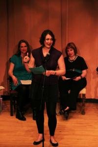 A performer from the 2013 Michiana Monologues Write on Sisters! event at IUSB. (Photo provided)