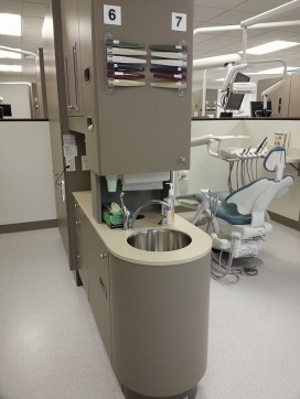 The dental hygiene clinic has moved from Riverside Hall to the Education & Arts Building. (Preface photo/SARAH E. WARD)