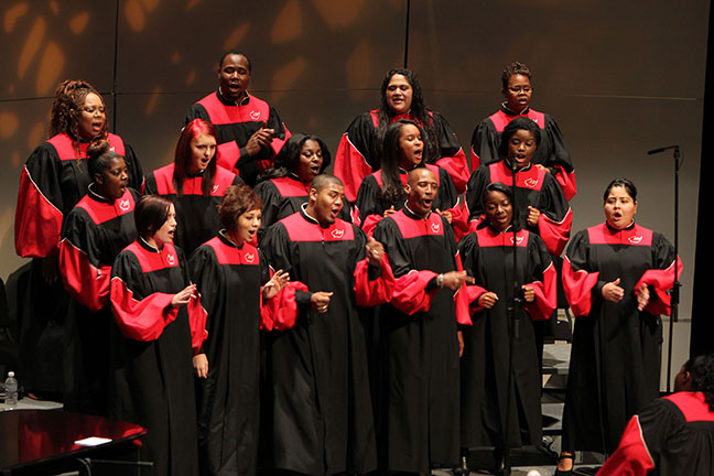 "The IU South Bend Gospel Choir will be part of this month's ""Lift Every Voice"