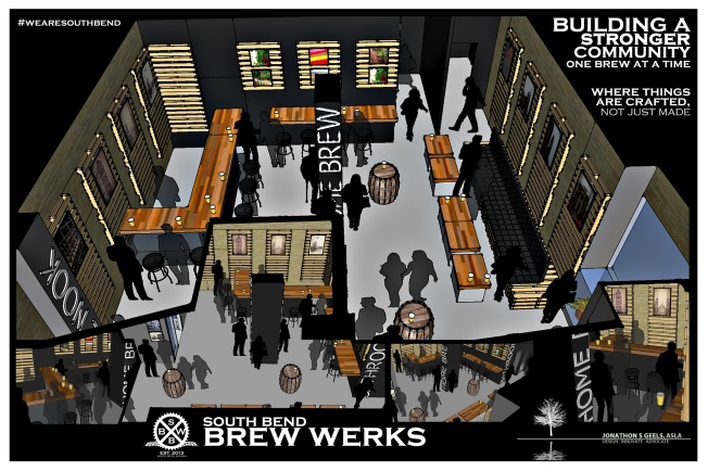 Brew pub slated to open this spring in downtown South Bend