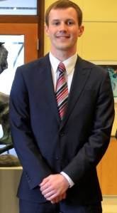 Justin Chupp, president of the Student Government Association.