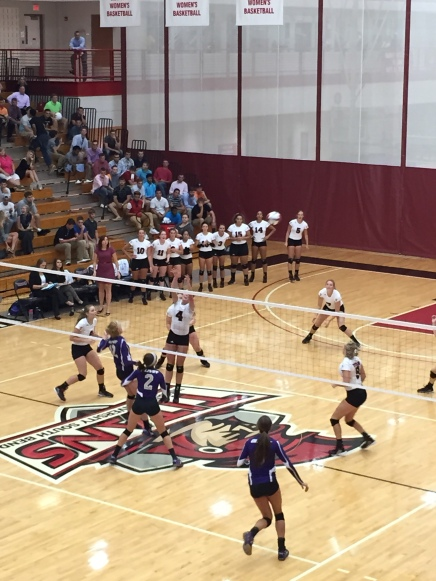 Titans battled the ONU Tigers in Tuesday's home opener