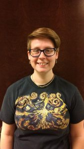 "Lindsay Wilson: ""I like to go on bike rides around my neighborhood."""