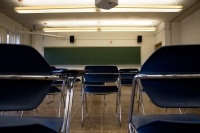 A clockless classroom. PHOTO/KENDALL ASBELL