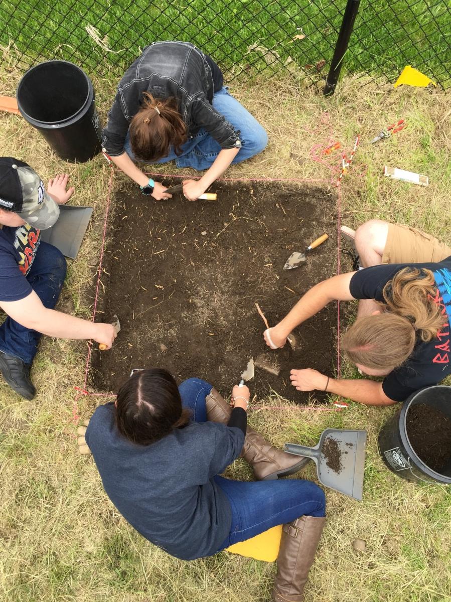 Digging Campus History